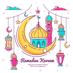 Eid-al-fitr arabian spiritual tradition eid-al-fitra Eid Mubarak Stickers, Eid Mubarak Greeting Cards, Eid Cards, Ramadan Crafts, Ramadan Decorations, Ramadan Poster, Ramadan Images, Ramadan Background, Muslim Ramadan