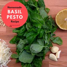 Homemade Basil Pesto Recipe | L'Americanina | I absolutely love pesto. I think it may even be my favorite topping for pasta. But, in addition to pasta, it makes a great topping to use when making bruschetta, pizza, fish, sandwiches, chicken, or even to mix in with baked vegetables