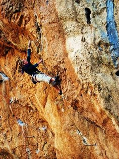 Shauna Coxsey. One of my favorite climbers to watch-- the perfect mix of strength and skill!