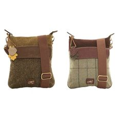 8fa819bfe5a HAWKINS COUNTRY CLASSIC COLLECTION TWEED CROSS BODY BAG Cross Body  Handbags