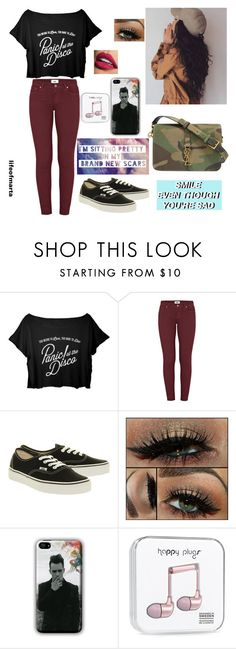 """""""Aye:):(:)"""" by lifeofmarta ❤ liked on Polyvore featuring Paige Denim, Vans and Yves Saint Laurent"""