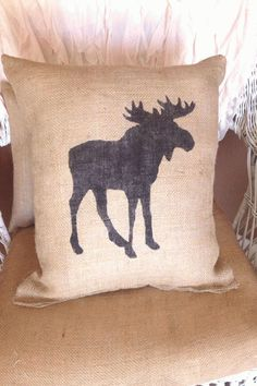 #Burlap #rustic #pillow Burlap moose pillow lodge decor rustic decorburlapbrp classfirstletterScroll down for higher moose subjectpCharacteristic of The Pin Burlap moose pillow lodge decor rustic decorburlapbrThe pin registered in the Burlap board is selected from among the pins with high photograph quality and suitable for use in different areas Instead of wasting time between a sizable number of alternatives on Pinterest it will save you time to explore the tops quality options on my… Lodge Look, Lodge Style, Country Decor, Rustic Decor, Rustic Wood, Accent Pillows, Throw Pillows, Burlap Pillows, Design Rustique