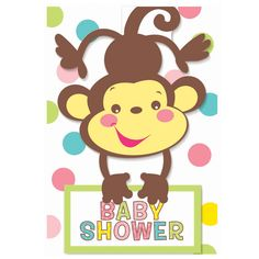 Blank Baby Shower Clip Art | Fisher Price Baby Shower Invitations | ThePartyWorks
