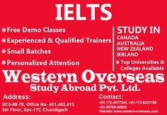 You may get stuck into the options available when you step outside to find a right IELTS institute in Chandigarh. This document brings a lot of help in the form of tips and ideas on how to judge capabilities of an IELTS coaching centre.
