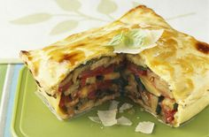 Courgette, tomato and Parmesan pie - Tesco Real Food