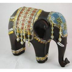 elefantes en madera - Buscar con Google Elephant Figurines, Captain Hat, Clay, Heels, Google, Happy, Decor, Fashion, Baroque