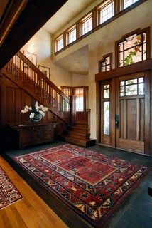American Arts and Crafts Gem - love the rug