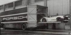 Porsche - Transport - Mercedes - O 317 {S YZ 32} - 1969 - Usine + 908 flunder - 1000 (3)