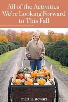We're sharing some of the things we're most excited to do once the weather turns crisp; let our ideas inspire your own seasonal activities. Read the list of fun fall activities we are looking forward to this autumn, from family-friendly outdoor ideas, DIY fall decor, to seasonal fall recipes. #marthastewart #fall #falldecor #diyideas #diydecor Kid Stuff, Random Stuff, October Country, Fun Fall Activities, Christmas Time Is Here, Autumn Crafts, Happy Fall Y'all, Samhain, Autumn Inspiration