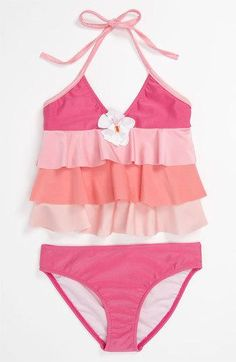 love this! too cute! #swimsuit #fashion #kids #style