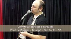 #07 Convite - Varal de Poesias, no Tatuapé - São Paulo-SP - 90º Café com...