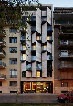 Galería - Apart Hotel Ismael 312 / Estudio Larrain - 6
