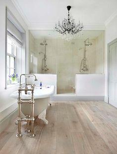 Georgian farmhouse Surrey UK. Drummonds Bathrooms. Designed by...