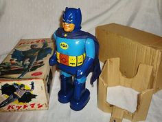 1966 Battery Operated Batman w/ Original Box Sold for $5,000.