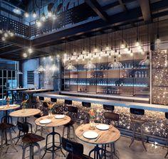 bar render fresh house