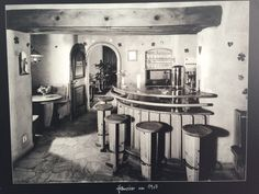 Our house bar around 1907