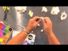 The Joy of Crafting 156/1 - Hearty Clay Plumeria and Gardenia In this segment, Keala M. teaches us how to make a plumeria and gardenia from Hearty Clay which is an air drying clay. This show was taped before a live audience.