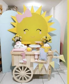 1st Birthday Themes, Baby Birthday, 1st Birthday Parties, Sunshine Birthday Cakes, Christmas Tea Party, Fun Party Themes, Pink Parties, Baby Party, Unicorn Birthday