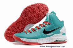 brand new c218b 9977b Chaud 554988 361 Nike Zoom KD V ID Mint Vert Rouge Blanc Nike Air, Kobe