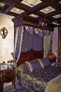 Cinderella Castle Suite Beds by levelbest, via Flickr