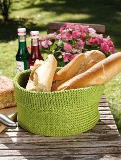 Gratisanleitung - Wer Abwechslung auch am gedeckten Tisch liebt, der wird sich für diese Alternative zum klassischen Brotkorb begeistern!