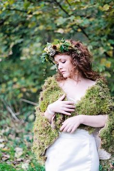 Ethereal Woodland Bride | Love My Dress® UK Wedding Blog