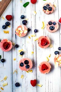 Frozen Yogurt Bites - Wendy Polisi