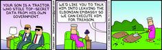 How we should be handling requests  :-) The Dilbert Strip for September 14, 2013