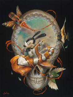 the summer vacation. arte surrealista x craola Art And Illustration, Portrait Illustration, Art Illustrations, Fashion Illustrations, Graffiti, Fantasy Kunst, Fantasy Art, Arte Lowbrow, Frog Art
