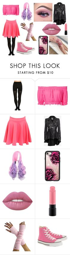 """Cortniey Ripley; Mystreet S1 OC"" by thatoneemoash ❤ liked on Polyvore featuring SPANX, Apiece Apart, Pilot, Alexander McQueen, Casetify, MAC Cosmetics and Converse"