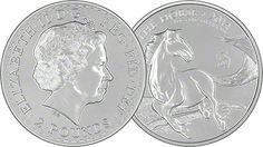 Royal Mint Lunar Horse 'Mule' Coin
