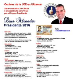 Luis Abinader Pesidente.
