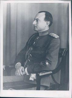 1930s Photo Prince Paul Regent Yugoslavia Royal Original Rare Historic Vintage