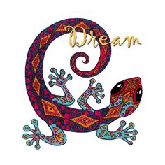 Check out this awesome 'Dream+Gecko' design on @TeePublic! by #annmariecheung