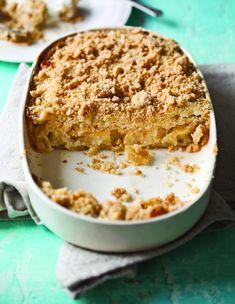תמיד עם הקפה. עוגת תפוחים עם שטרויזל (צילום: דניאל לילה ,יחצ)
