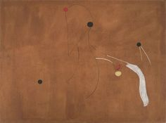 Joan Miró, Painting (Birds), 1927 Oil on canvas 97 x 130 cm
