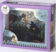 Slinky Malinki was blacker than black, a stalking and lurking adventurous cat.