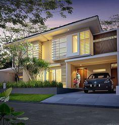 desain rumah 1 lantai 3 kamar lebar tanah 6 meter dengan