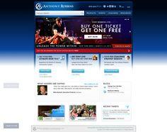 Tony Robbins website