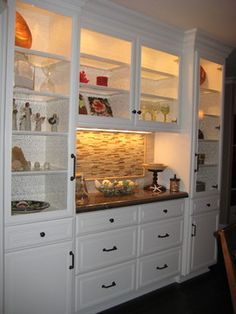 find this pin and more on dining room - Dining Room Wall Cabinets