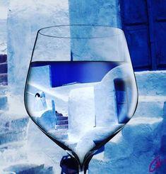 Santorini Greece Evening by Colette V Hera Guggenheim Gcse Art Sketchbook, Romantic Images, Creative Artwork, Unique Image, My Works, Art Photography, Abstract Art, Instagram Images