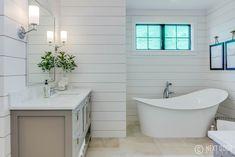 modern farmhouse, modern farmhouse bathroom, white bathroom, bathroom decor, vintage bathroom decor