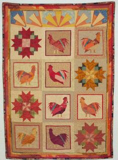 rooster wallhanging