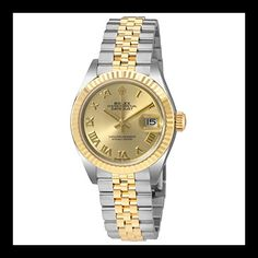 Rolex Lady Datejust Champagne Dial Steel and 18K Yellow Gold Ladies Watch 279173CRJ * This is an Amazon Associate's Pin. Want to know more, click on this Amazon Affiliate link.