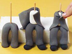 como teñir pasta de goma gris - Buscar con Google