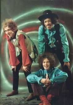 The Jimi Hendrix Experience... Mitch Mitchell, Jimi Hendrix, and Noel Redding