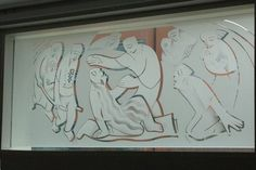 'The Healing' window - Queen Elizabeth Hospital, Birmingham Glass - Gallery - Mynheer-art: the fine art site of painter and sculptor Nicholas Mynheer