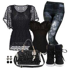 Super cute black outfit