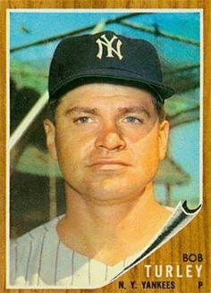 1962 Topps Bob Turley
