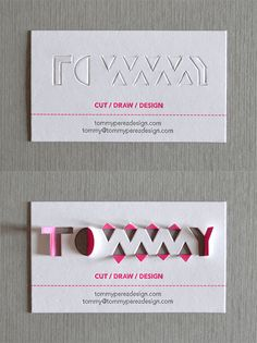 30+ Beautiful Examples of Modern Business Card Designs for Inspiration 40 Inspiring Business Card Designs